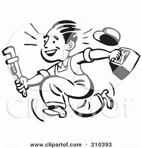 Plumber Illustrations And Clip Art 3561 Plumber Royalty
