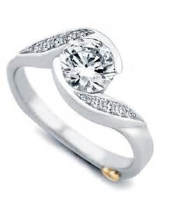 contemporary engagement rings whirlwind contemporary engagement ring schneider design