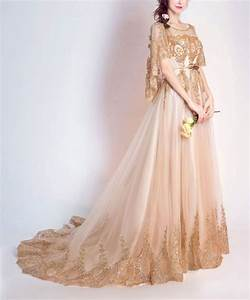 another great find on zulily coeur de vague gold With zulily wedding dresses
