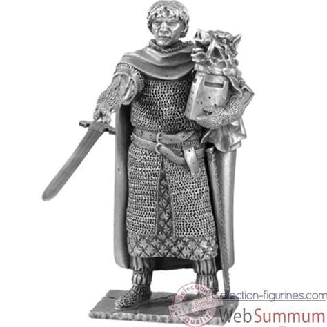 figurines 233 tains chevalier de la table ronde galaad et siege sur collection figurines