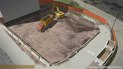 Construction Concrete Worksite Sequence Vinci Phasing 4d