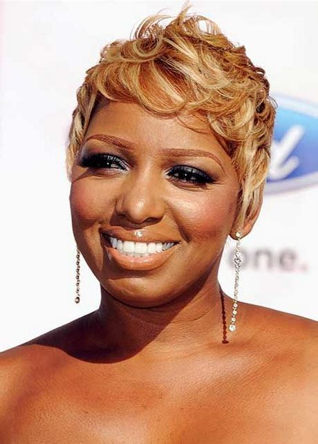 short blonde hairstyles  black women