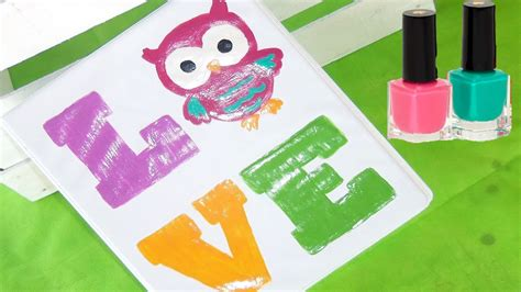 ideas para decorar carpetas de preescolar como decorar tu carpeta con esmaltes buho back to school