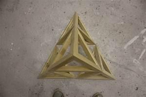 3D Tetrahedron Pyramid, 1st Iteration in Sierpinski ...