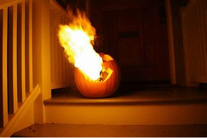 Lantern Jack Pumpkin Flamethrowing Flamethrower Gifs Fire