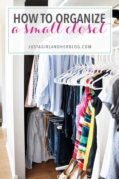 How To Organize Small Closets by How To Organize A Small Closet Abby Lawson