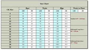 uk wedding dress size measurements wedding ideas 2018 With wedding dress size chart