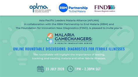 Malaria-Gamechanger-invitation-update logo - FIND