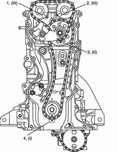 2004 Suzuki Grand Vitara Engine Timing Chain Diagram