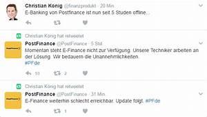 Postfinance E Finance : was machen die wieder crash bei postfinance inside paradeplatz ~ Watch28wear.com Haus und Dekorationen
