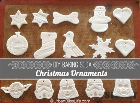 diy bliss baking soda christmas ornaments urban bliss life