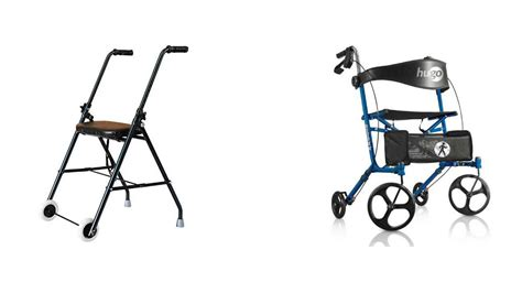 walker folding rolling seat walkers