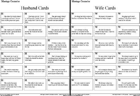 Marriage+counseling+worksheets  Students Will Be Laughing