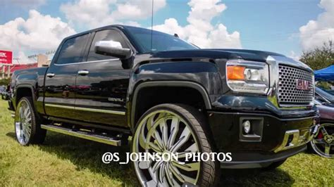 super clean gmc denali    amani forged rims  hd