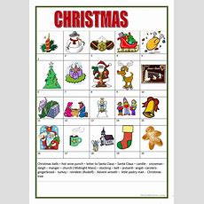 Christmas Worksheet  Free Esl Printable Worksheets Made By Teachers