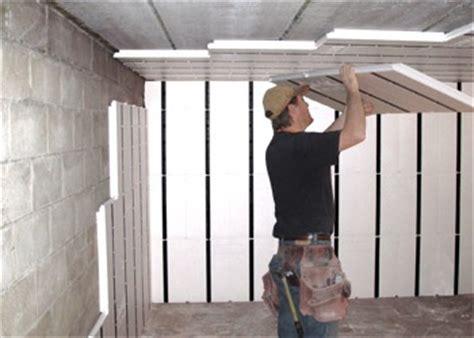perfect insulation  basement walls insofast