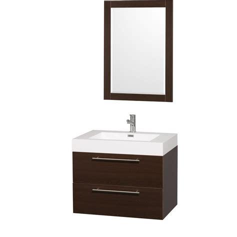 unique bathroom vanities amare 30 quot espresso wall mounted bathroom vanity set with