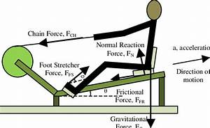 Schematic Diagram Of Inclined Ergometer Of Fesrowing