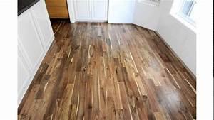 acacia hardwood flooring youtube With parquet acacia