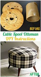 Diy Recycled Wood Cable Spool Furniture Ideas  Projects  U0026 Instructions