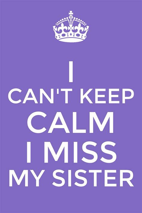 Miss You Big Sister Quotes