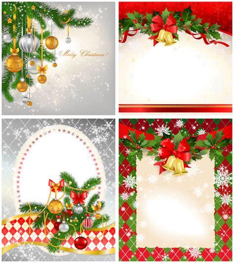 christmas card templates vector vector graphics blog