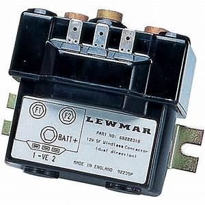 Lewmar Windlass Control Solenoids