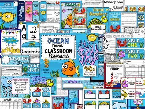 ocean themed classroom ideas  pinterest ocean