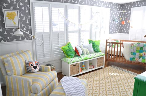 Modern Nursery Ideas Gender Neutral  Home Design Ideas