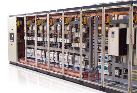 electric cabinets  automation control engines start