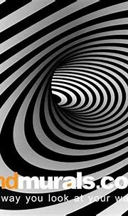 3D Swirl of Hope Black and White Wallpaper   3d wallpaper ...