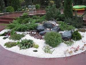 Steingarten Bilder Beispiele : die besten 25 steingarten gestalten ideen auf pinterest vorgarten ideen steingartenpflanzen ~ Watch28wear.com Haus und Dekorationen