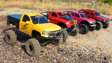 Rc Adventures  4 Scale Rc 4x4 Trucks In Action  On Ma
