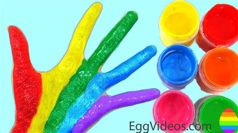 color finger learn colors for children toddlers finger family