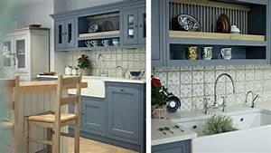 meuble salle de bain a fabriquer chaioscom With meuble cuisine style campagne