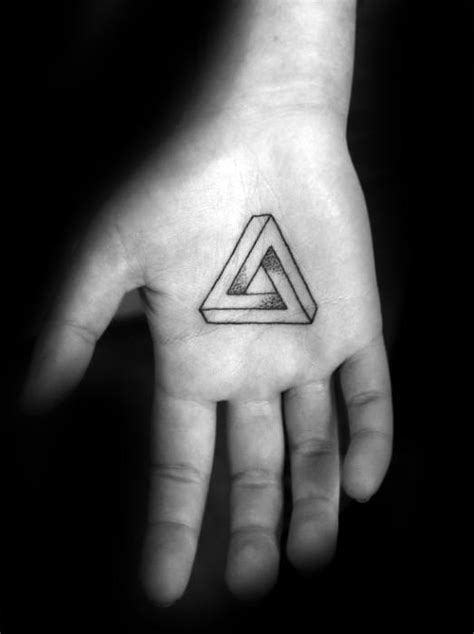 40 Geometric Hand Tattoos For Men - Pattern Design Ideas