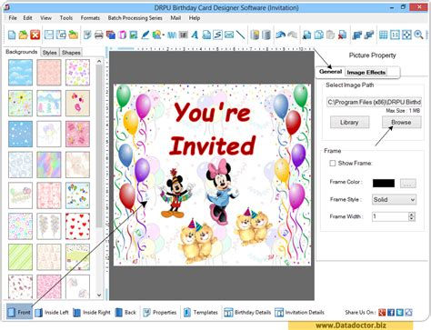 birthday card maker software design funny greeting happy