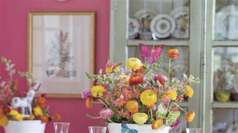 colorful easter table decorations southern living