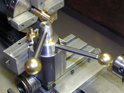 home  quick change toolpost  taig lathe machine