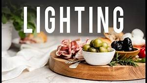 2 Awesome Lighting Tricks for Food Photography - YouTube