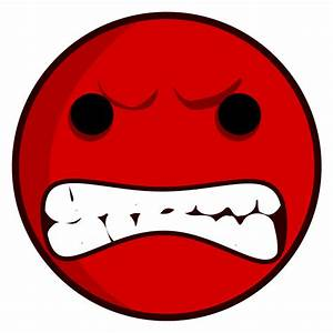Cartoon Angry Face - Cliparts.co