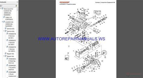 dynapac full set spare parts catalogue dvd auto repair