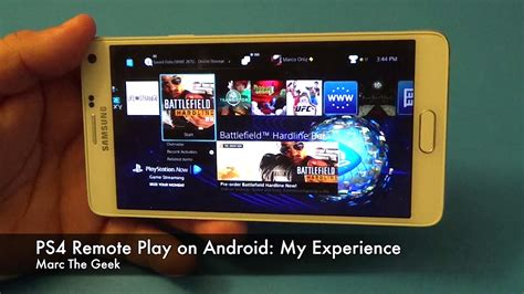 remote play for android ps4 remote play on android my experience