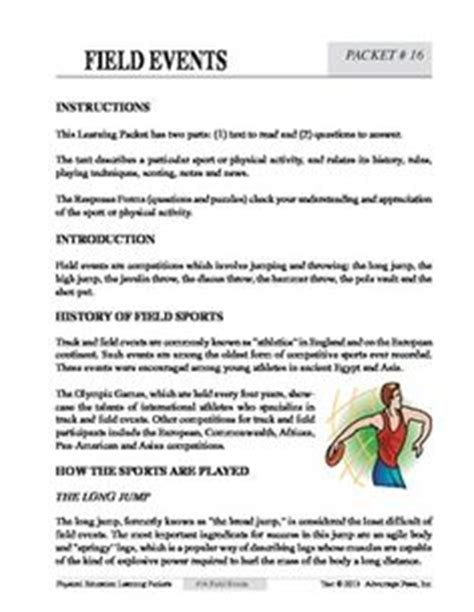 pe alternative tasks images worksheets