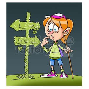 royalty  trina  cartoon girl character hiking