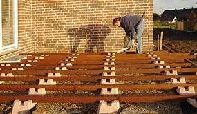 Fundament Für Terrasse : fundamentstein als gr ndung f r holzterrasse oder gartenhaus ~ A.2002-acura-tl-radio.info Haus und Dekorationen