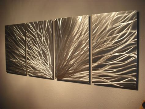 modern metal wall sculpture metal wall abstract contemporary modern decor sculpture radiance milesshay painting on