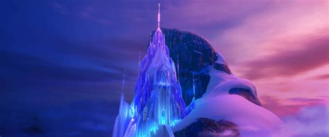 New 'frozen' Images Show Off Elsa's Ice Palace, Arendelle