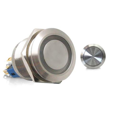 Momentary Illumination Ring Led Aluminum Billet