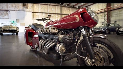 The Lamborghini Espada V12 Motorcycle – by Chuck Beck